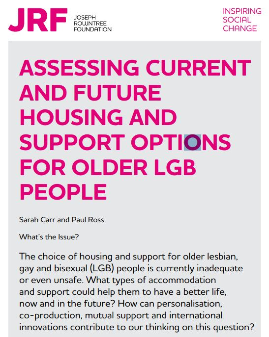 Open Assessing current and future housing and support options for older LGB people